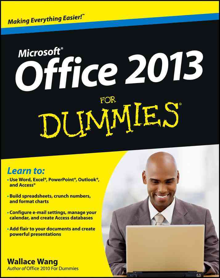 Office 2013 for Dummies By Wang, Wallace